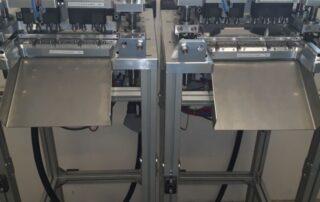 Stroje pro ostřihování vtoku